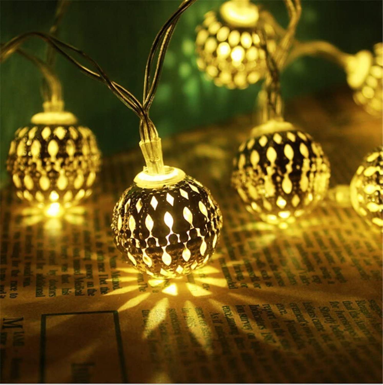3 м/6 м/10 м светодиодная гирлянда в виде шара, новинка для нового года, Рождества, свадьбы, домашнего декора, с питанием от USB, для помещений