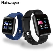 En Stock! D13 montres intelligentes 116 Plus montre de fréquence cardiaque bracelet intelligent montres de sport bracelet intelligent étanche Smartwatch Android A2