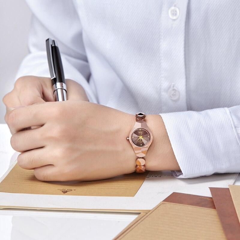 Mini Woman Watch Tungsten Steel Quartz Luxury Top Brand Waterproof Bracelet Stylish watches for women wrist Reloj W-735CK-9M enlarge