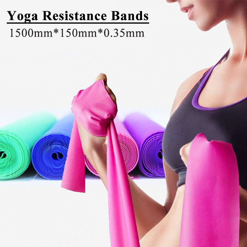 yoga elastic band resistance bands fitness for home gym equipment elasticas workout exercise rubber training band set Fitness Exercise Resistance Bands Rubber Yoga Elastic Band Resistance Band Loop Rubber Loops For Gym Training Elastic Bands