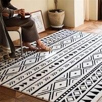 Morocco style all match beige color fleece fabric soft towel feeling area rug  big size decorative coffee table floor mat