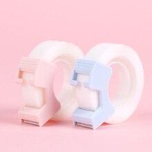 2 pièces/ensemble ruban Washi Transparent papier créatif bricolage planificateur ruban de masquage rubans adhésifs autocollants fournitures de bureau papeterie