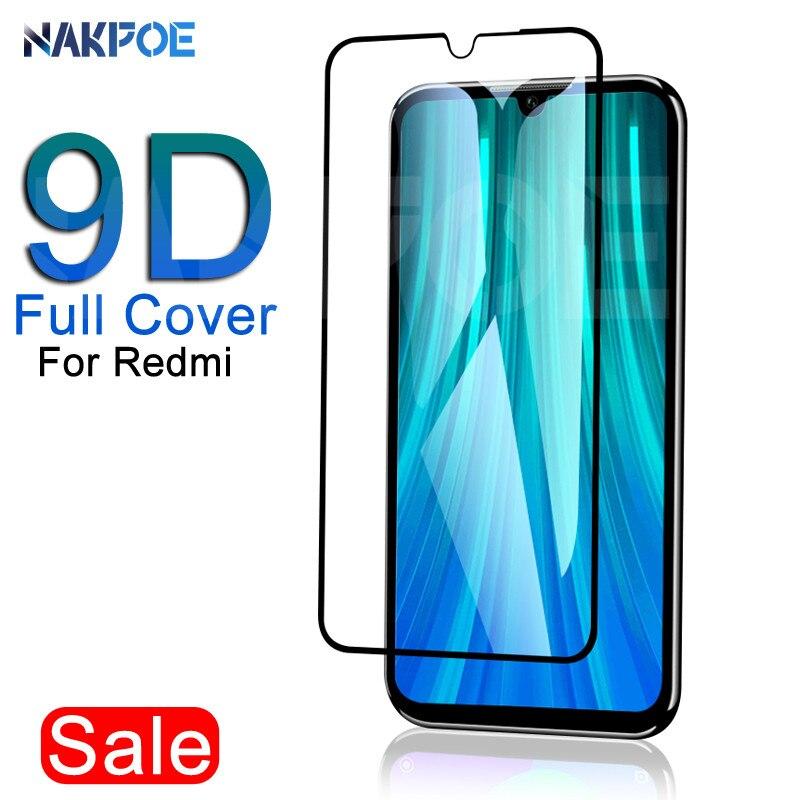 9D Защитное стекло для Xiaomi Redmi 8 8A 7 7A 6A Go закаленное защитное стекло для Redmi 6 K20 Note 8 7 6 Pro