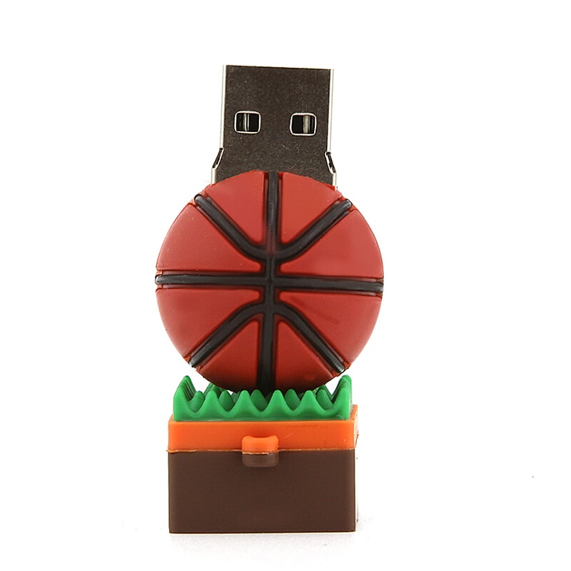Mini Sports Football Basketball Usb Flash Drive 128GB Usb Stick Pen Drive 256GB Flash Memory Card 512GB Pendrive Free Shipping