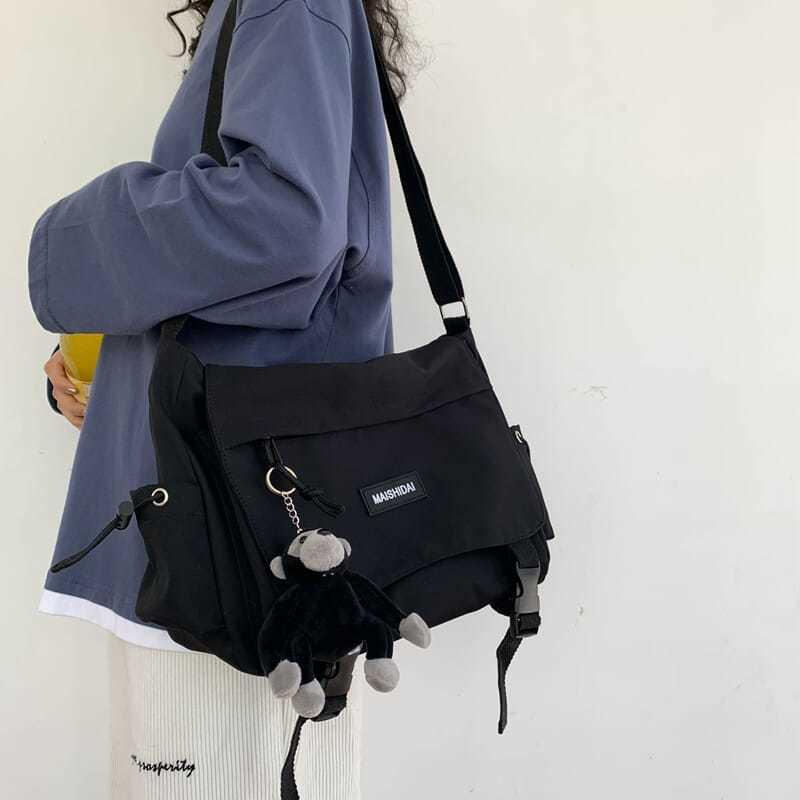 Bags For Women Fashion New Messenger Bags Lovely Multifunctional Female Travel Canvas Bag Female Cas