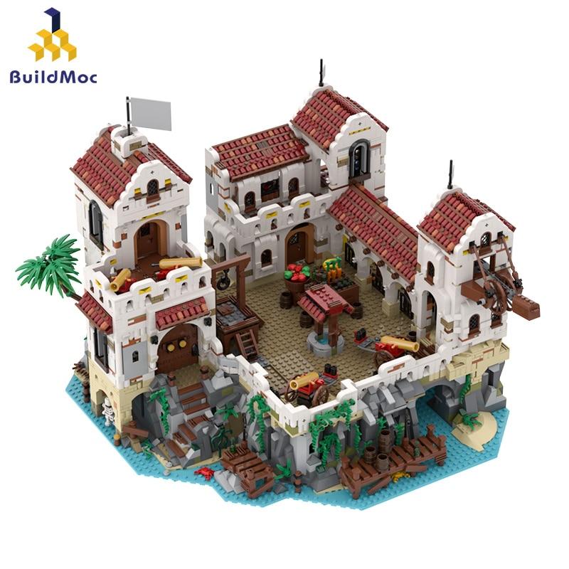 Eldorado Fortress Pirates Pirates of Barracuda Bay for 49155 49016 Pirate Theme Series Ideas Model Building Blocks Bricks Toys