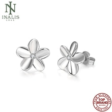 INALIS Vintage Flower Shaped Earrings Silver Color Earrings For Women Fashion Jewelry Best Selling V