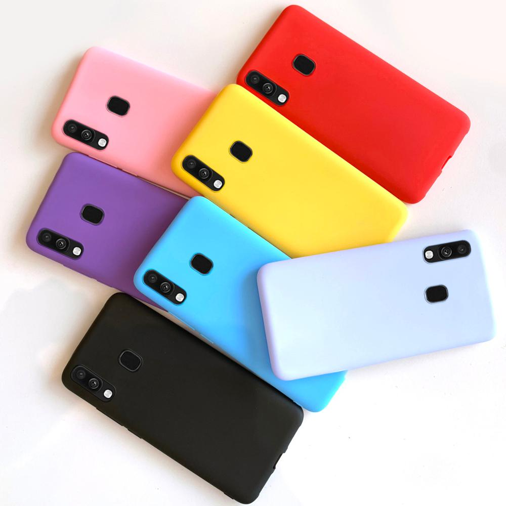 for coque samsung a40 case soft phone