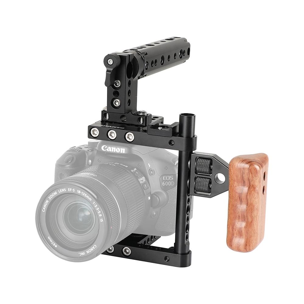 Applicable to for Canon 60D/70D/7D for Nikon D7000/D7100,D7200,D300S,D610/A99/A58, a7/A7II/GH5/GH4/GH3/GH2 for Camera Cage Shelf