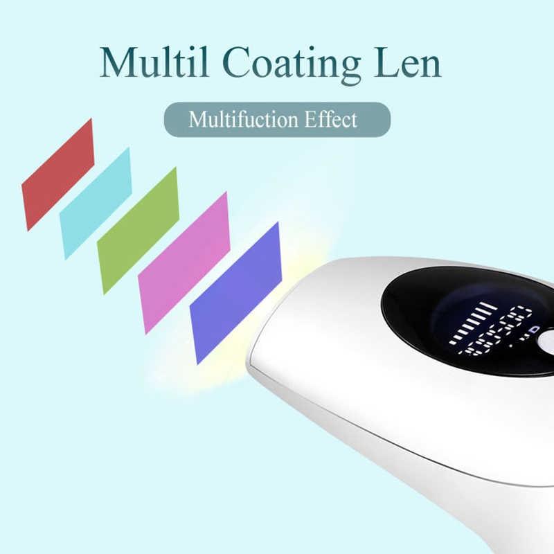 IPL Laser Depilator 900000 flash professional permanent LCD laser hair removal Photoepilator women painless hair remover GH13 enlarge