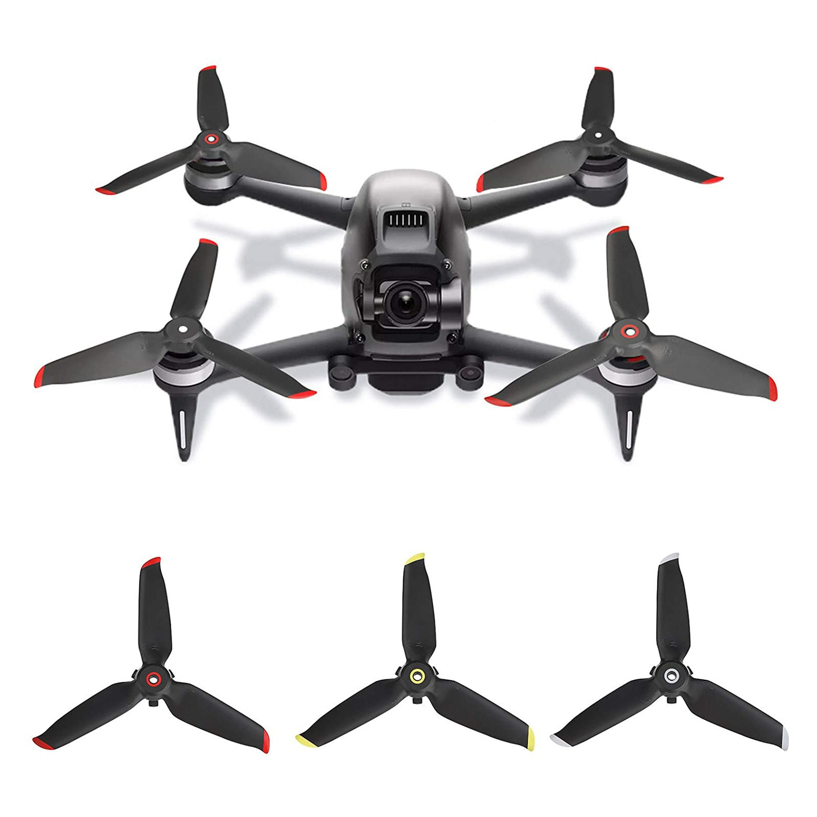 20pcs 10 pairs kingkong 5040 5x4x3 3 blade props tri props propellers fpv racer quadcopter qav x qavr dalprop dys 5040 4 Pair Propellers Props Blade RC Drone Spare Parts Quadcopter Replacement Accessories For DJI FPV Combo Drone