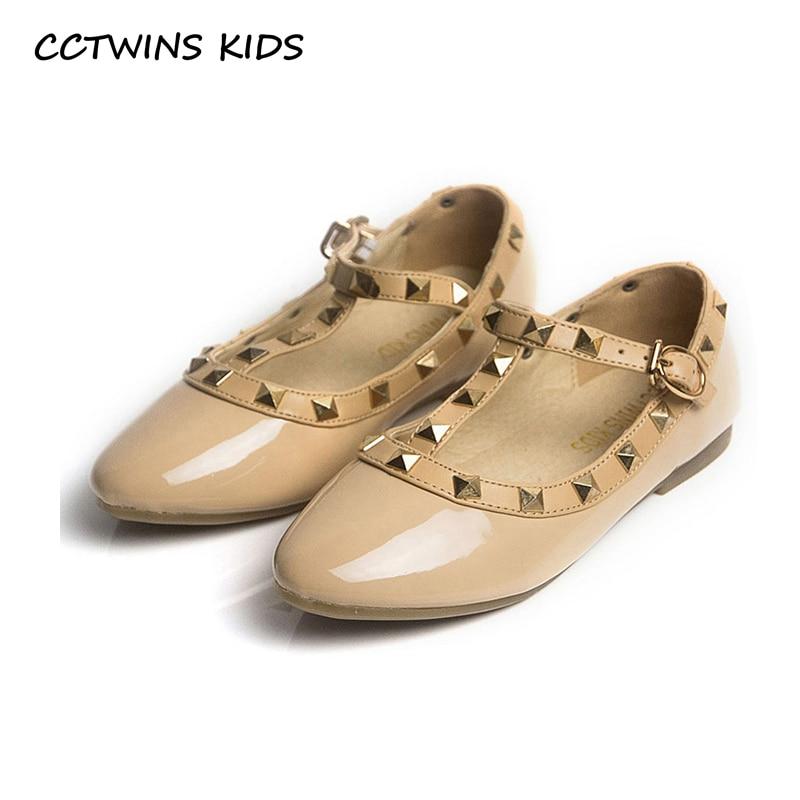 CCTWINS KIDS spring girls brand for baby stud shoes children nude sandal toddler summer shoe black w