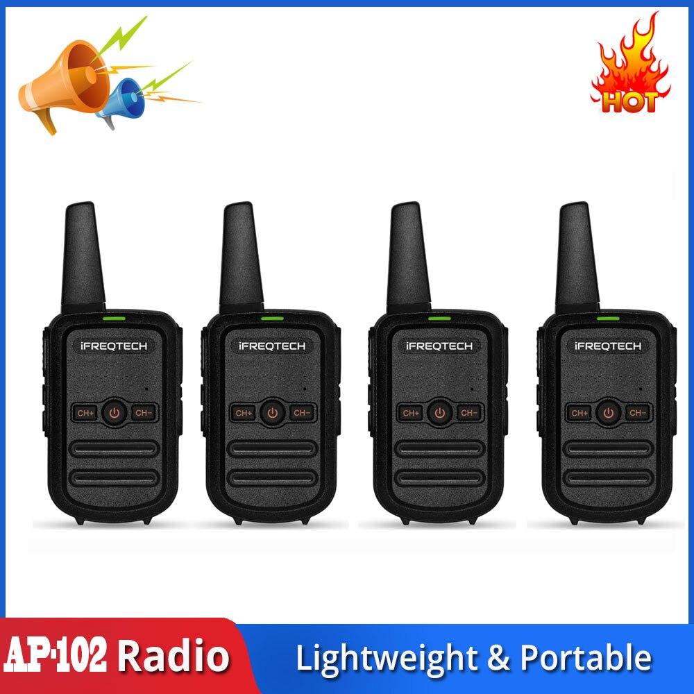 AP-102-Walkie Talkie PMR446, de largo alcance, compatible con MOTOROLA talkabon TLKR T42 T40, BAOFENG BF-888S KD-C1 RT22 RT622 Ksun Radio