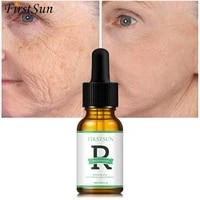 firstsun retinol anti wrinkle face serum vitamin c moisturizer whitening cream nourishing fade fine lines tighten repair essence
