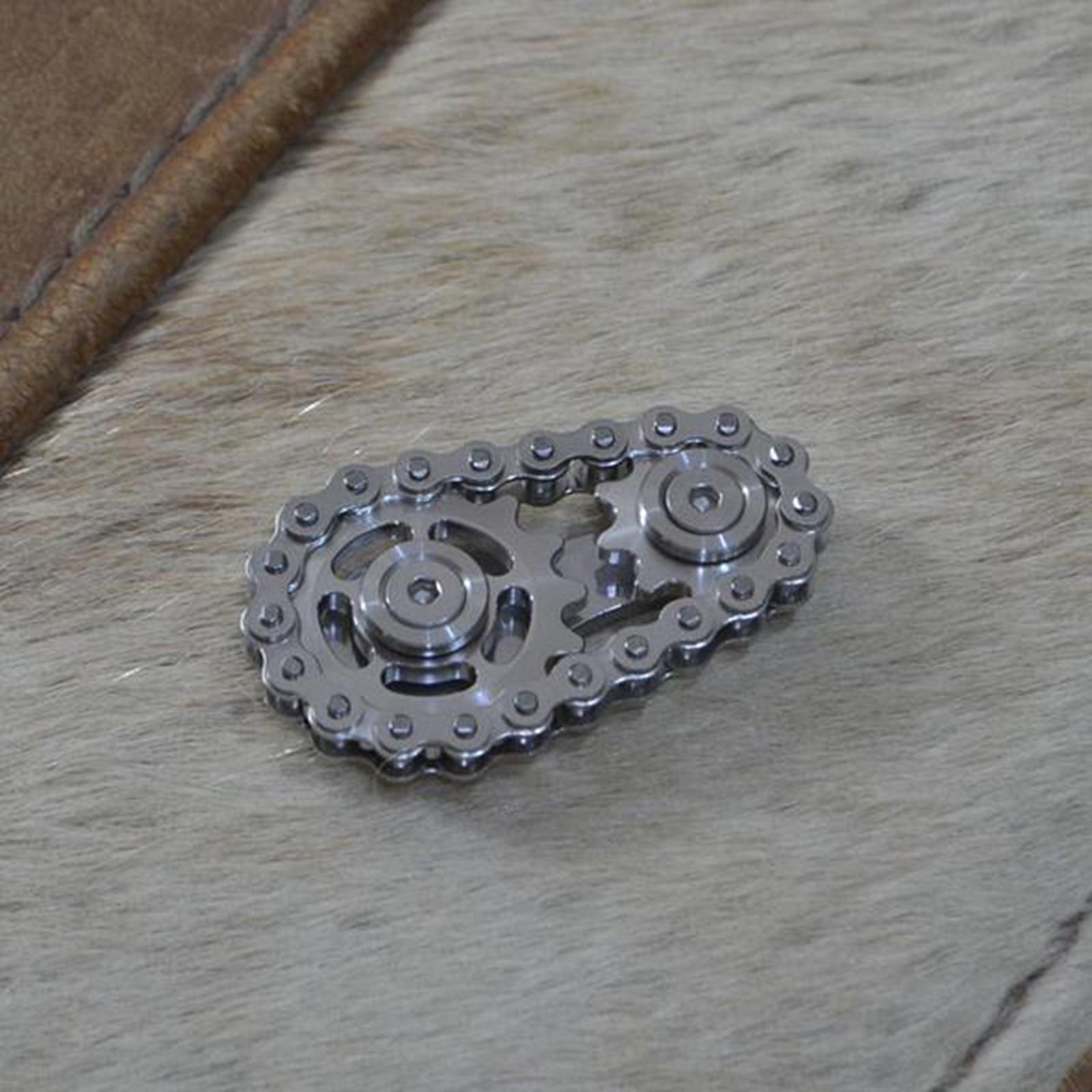 Children's toys, educational decompression toys, fingertip gyro sprocket sprocket flywheel toy NEW HOT полимерная глина 40* enlarge