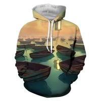 2021 new fallwinter hoodie womens sweatshirt harajuku loose streetwear matching 3d printing anime style fall spring pullover m