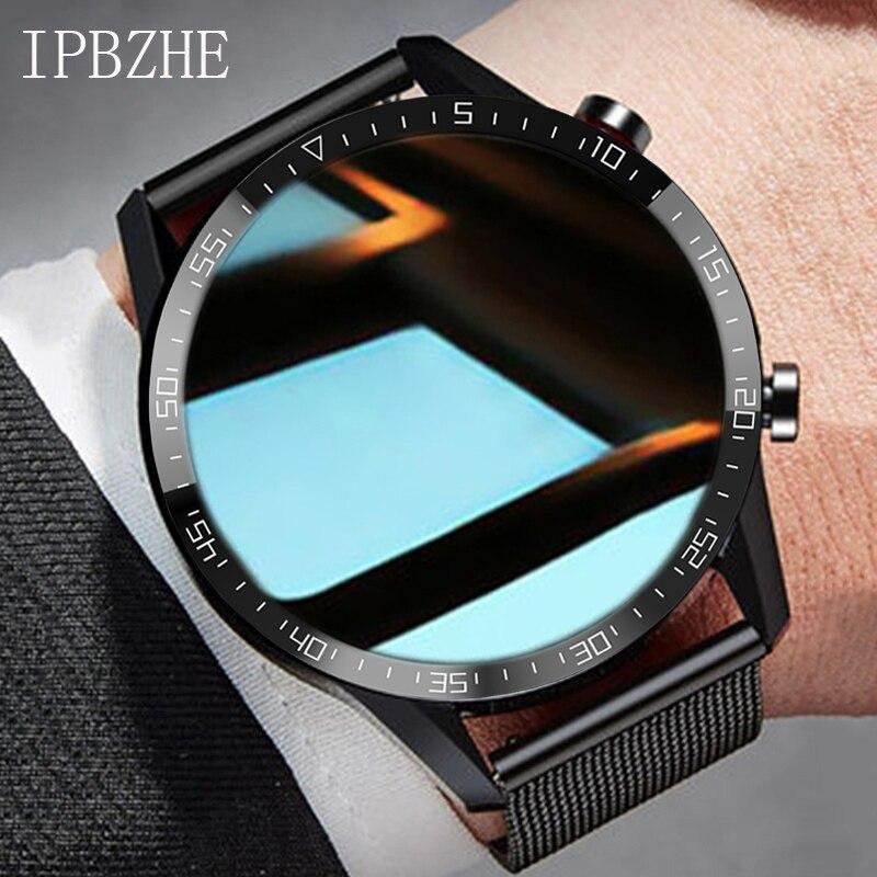 Ipbzhe Smart Watch Android Men Bluetooth Call Smart Watch Men Business Reloj Inteligente Smartwatch For IOS Iphone Huawei Xiaomi