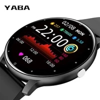 smart watch mens and womens sleep heart rate health monitor multifunctional sports pedometer real time weather ios android