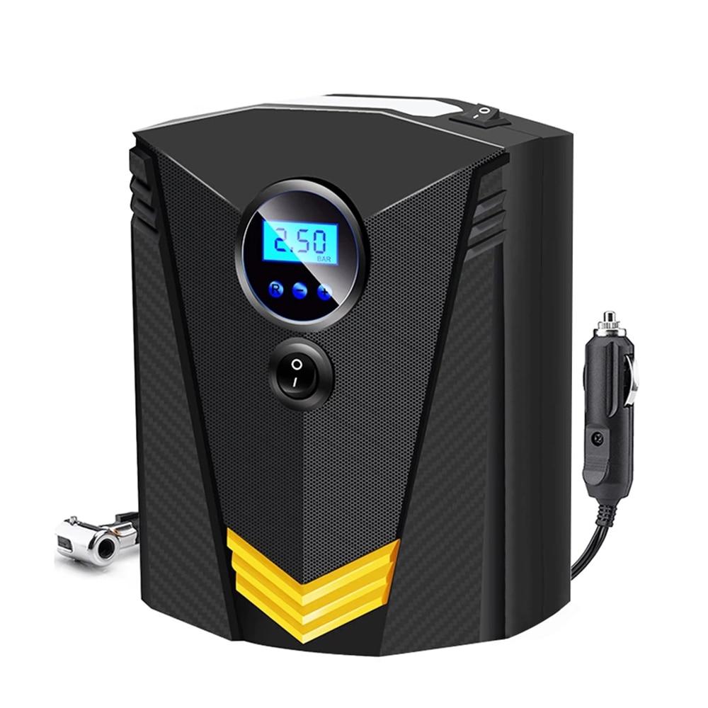 Насос автомобильный цифровой с ЖК светильник ем, 12 В, 150 PSI