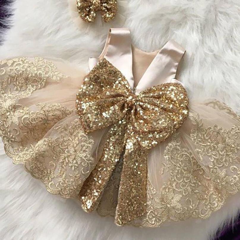 2 pçs com hairpins 2020 verão nova espanha menina vestido de princesa arco lantejoulas vestido para meninas festa casamento tutu vestidos l93