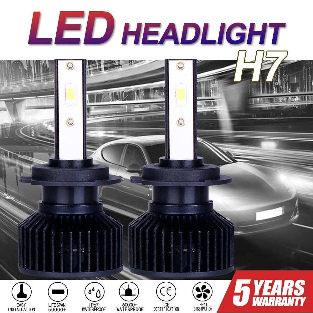 maxgtrs car led headlight h4 h7 h11 h8 9005 hb3 9006 hb4 9012 h16 8000lm auto headlamp fog lighting drl bulbs 6000k plug NEW Car Auto LED Headlamp Bulb 6000k H4 H3 H7 H8 H11 H16 9005 9006 HB3 HB4  light lamp