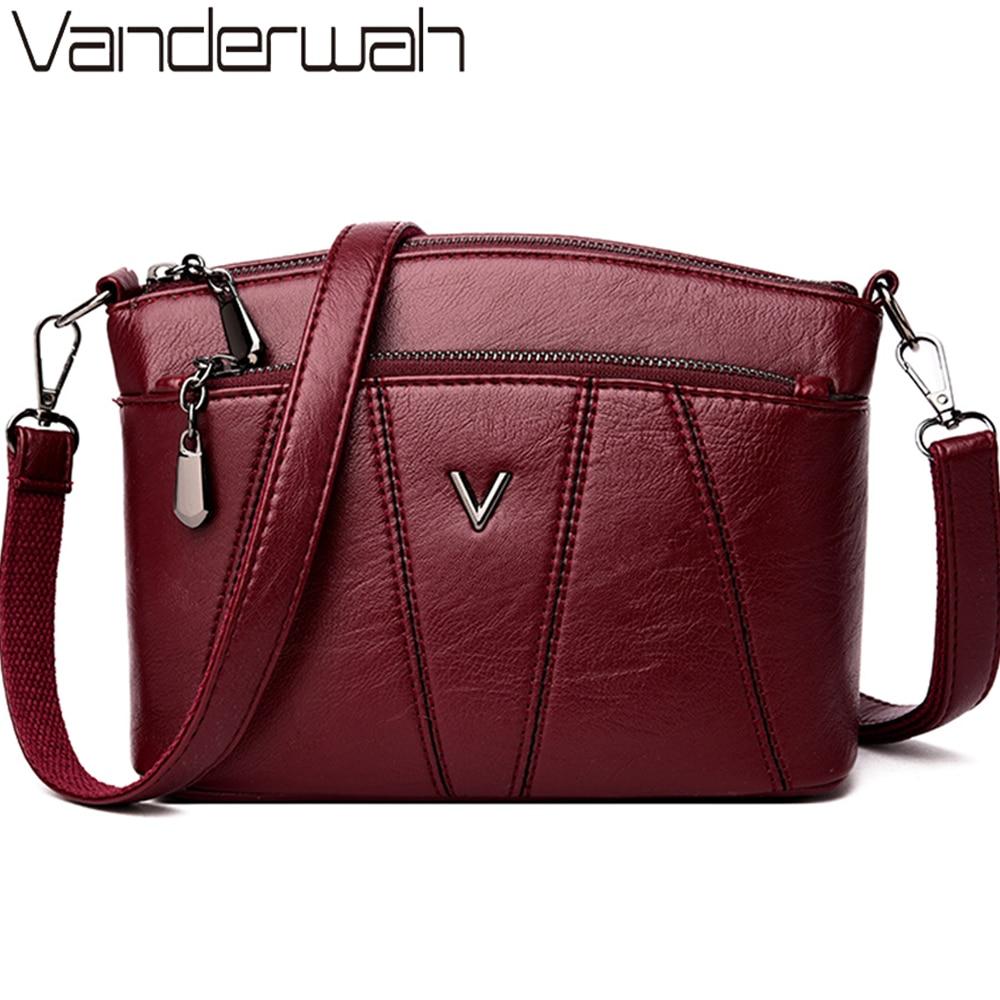 Ladies Crossbody Hand Bags For Women 2019 Luxury Handbags Women Leather Shoulder Bag Designer Women Bolsas Femininas Sac A Main