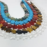 10mm natural crystal turquoise agate five pointed star pendant handmade jewelry diy necklace bracelet jewelry material gift gem