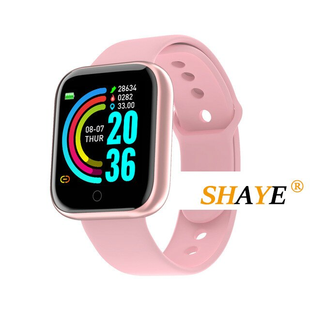 2020 Smart Bracelet Blood Pressure Heart Rate MonitorBluetooth Smart Watches Men Waterproof Sport Fitness Tracker Y68 Smartwatch