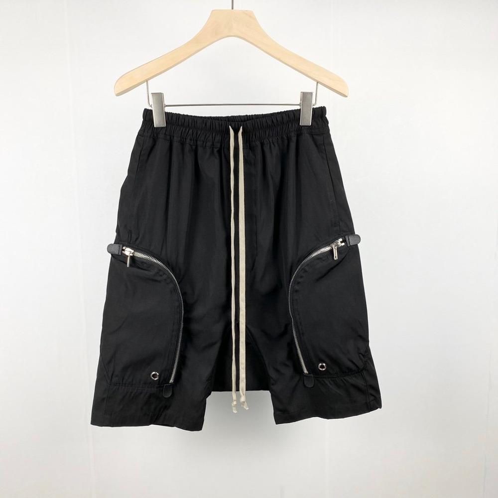 20ss Owen Seak Männer Casual Harem Shorts Gothic männer Jogginghose Sommer Hip Hop Hohe Pullover Frauen Lose Schwarz Shorts größe XL