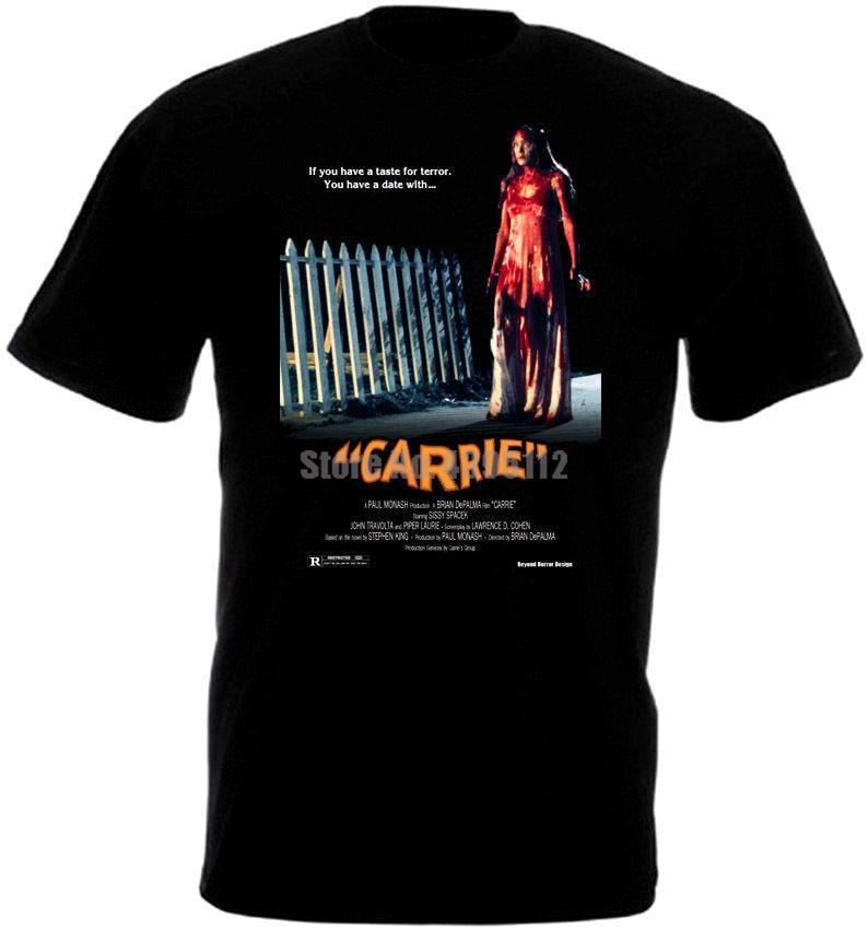 Carrie Movie Poster Man Anime Shirt Horror Shirt Military T-Shirts Lgbt T-Shirt Cool Things Xfucso