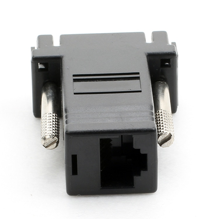 ESCAM 10PCS/LOT VGA Video Extender Male to LAN CAT5 CAT6 RJ45 Network Cable Female Adapter vga to rj45 adapter enlarge