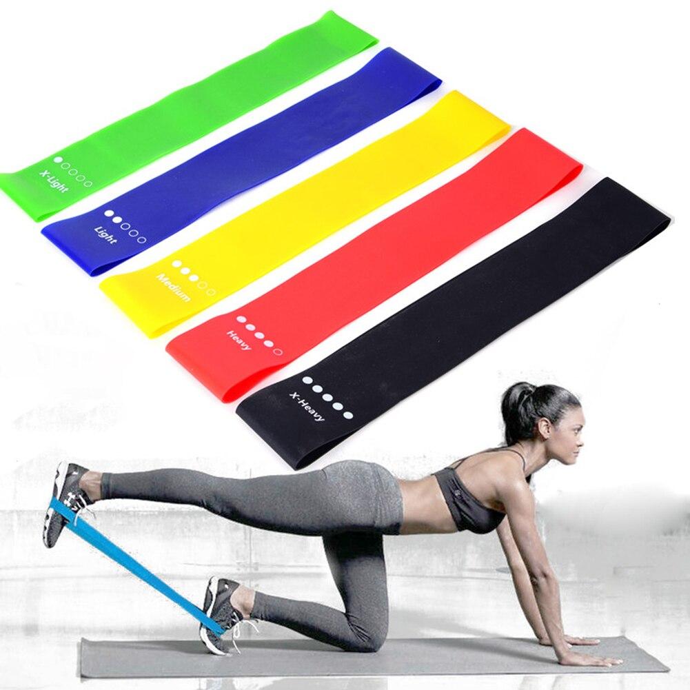 Пилатес приседания, тренировка для йоги TPE Эспандеры Йога Фитнес эластичный хип петли для бытовых Йога Спортивные Украшения