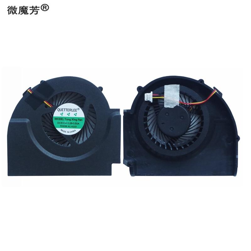 جديد محمول مروحة التبريد ل IBM لينوفو ثينك باد T510 W510 ل منفصلة بطاقة الفيديو PN: MG60090V1-C060-S99 GC055010VH-A وحدة المعالجة المركزية برودة