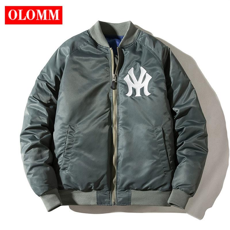 2020 Autumn Winter Short Baseball Jackets Oversize Women Bomber Jacket Couple's Jacket Coat Plus Size Female Tops Aviator Jacket
