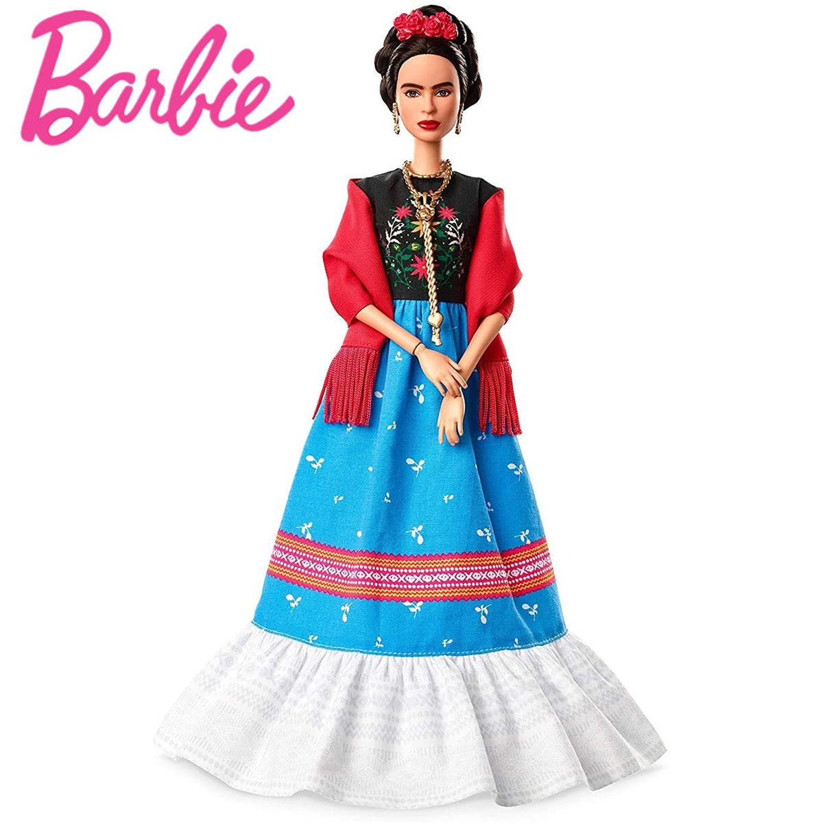 Barbie, inspirando a las mujeres Series Aviator Amelia Earhart pintor Frida Kahlo...