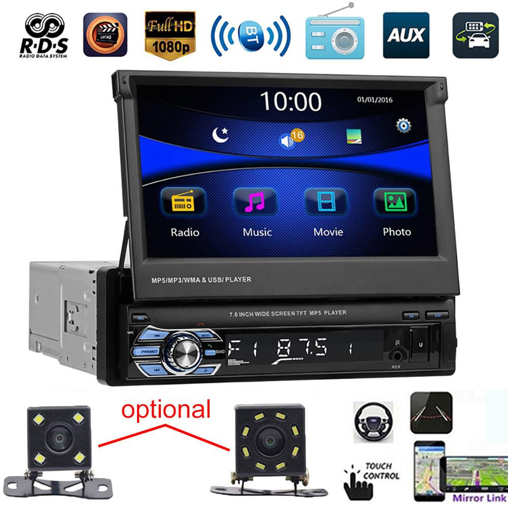 AliExpress - 9601 7 Inch Bluetooth Car FM Radio Audio Video MP5 Player with Rearview Camera