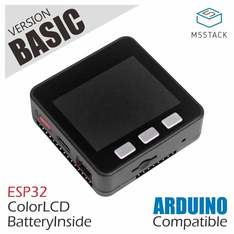 M5storm عرض الأسهم الرسمية! ESP32 الأساسية الأساسية مجموعة تطوير قابلة للتمديد مايكرو التحكم واي فاي بليه IoT النموذج المجلس لاردوينو