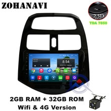 ZOHANAVI Android 9.0 2.5D Car DVD Player For Chevrolet Aveo Sonic 2011 2012 2013 Car Radio GPS Navigation Multimedia Stereo WIFI