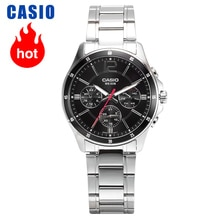 Casio Horloge Mannen Business Casual Pointer Serie Quartz Heren Horloges MTP-1374D-1A