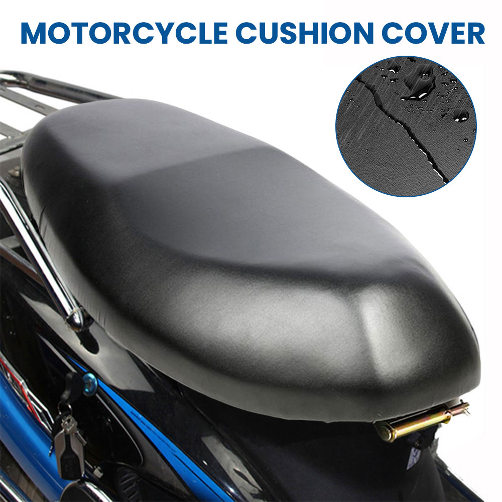 Motorcycle Seat Cushion Cover Waterproof Dust Protector Motorbike Scooter Motorcycle Seat Cover Protector Motorcycle Accessories