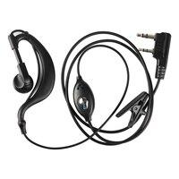 BAOFENG UV5R Plus BF-888S Ear Hook Interphone Earphone 2 PIN Earpiece Headset PTT with Microphone Walkie Talkie Mini Portable