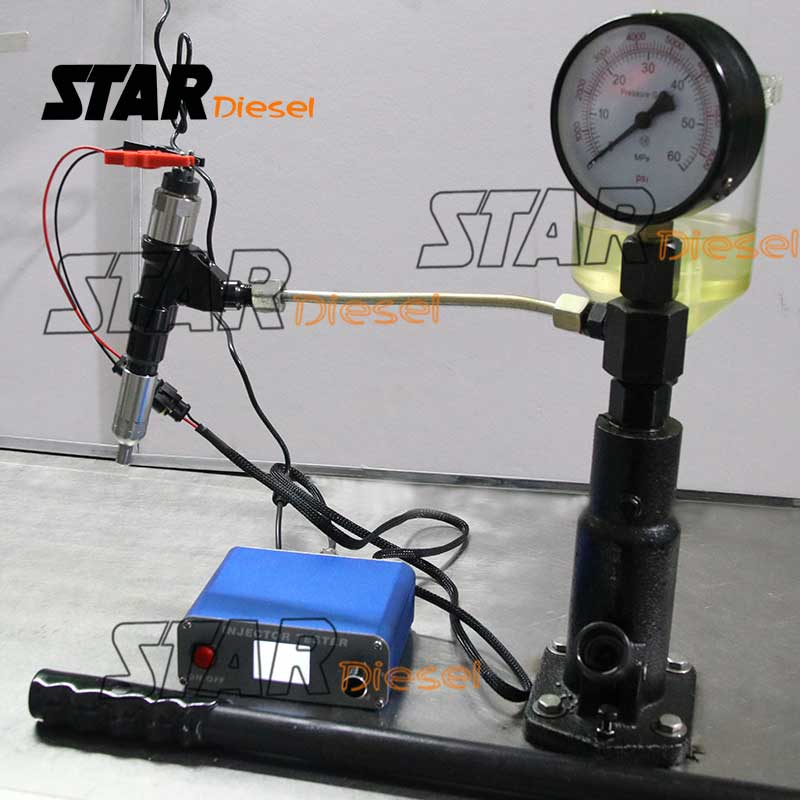 Auto Diesel Injector Tester Machine Fuel Piezo Injection Nozzle Tester Equipment E1024031 220V & 110V