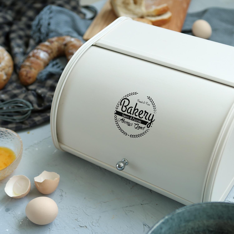 الشمال الحديد الوجه صندوق الخبز سطح المكتب وجبة خفيفة صندوق تخزين المنزل التشطيب صندوق تخزين