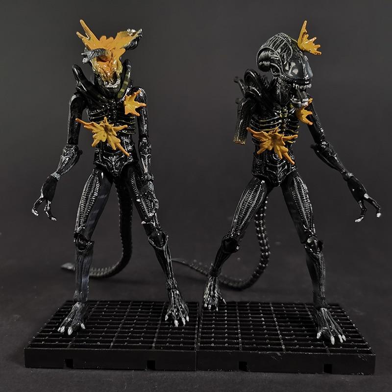 Figura de acción de Alien Warrior, juguete a escala 1/18
