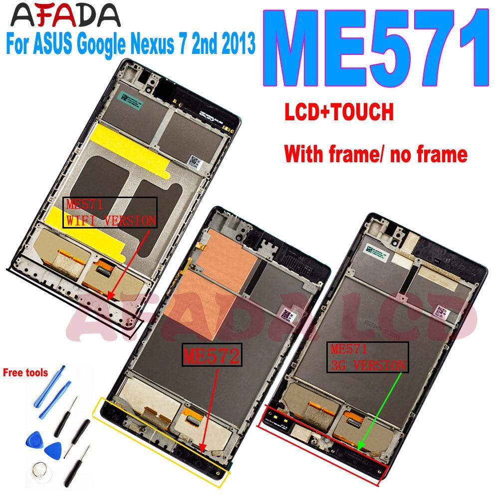 Para ASUS Google Nexus 7 2nd 2013 ME571 ME571KL ME571K K008 ME572CL...