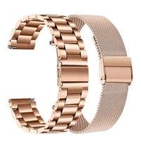 18mm 20mm 22mm nylon watch strap for garmin venu garminmove 3 garmin active s vivoactive 4 4s smart wristband quick release band