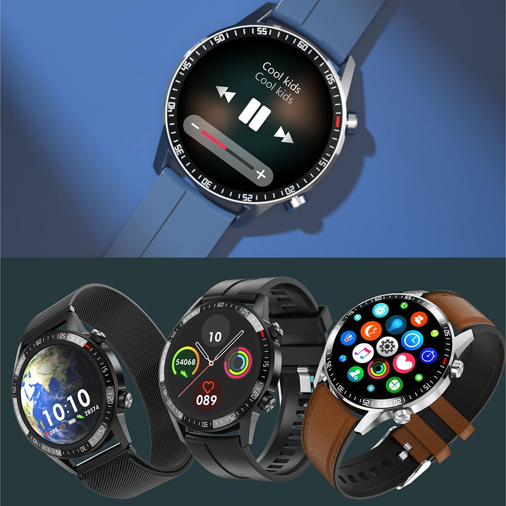 Smart Men Watches Top Brand Luxury Fitness Tracker Blood Pressure Fitness Tracker Smart Watch Men For Xiaomi Huawei IOS Android
