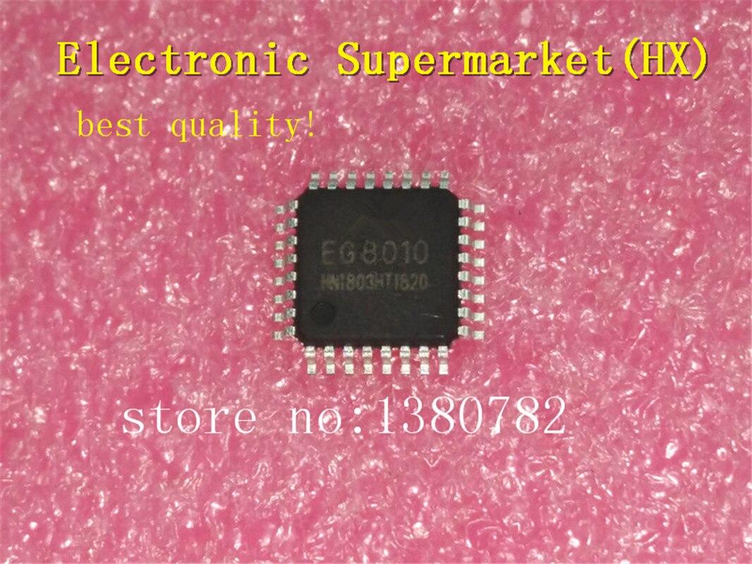 ¡Envío gratis 10 unids/lote EG8010 8010 QFP-32 nueva y original IC en stock!