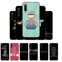 Silicon Phone Protector Coque for Xiaomi mi 6 8 SE A2 Lite Mix 2S MAX 3 A1 Note 10 F1 Cover Coffee friends tv show