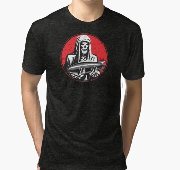 Hombres camiseta 828th Bombardment escuadrón emblema Grunge estilo triblend camiseta mujeres camiseta camisetas top